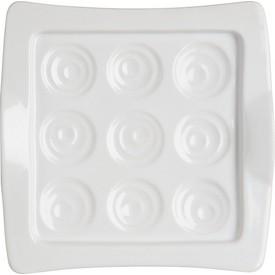 Assiette de service en porcelaine Galicia