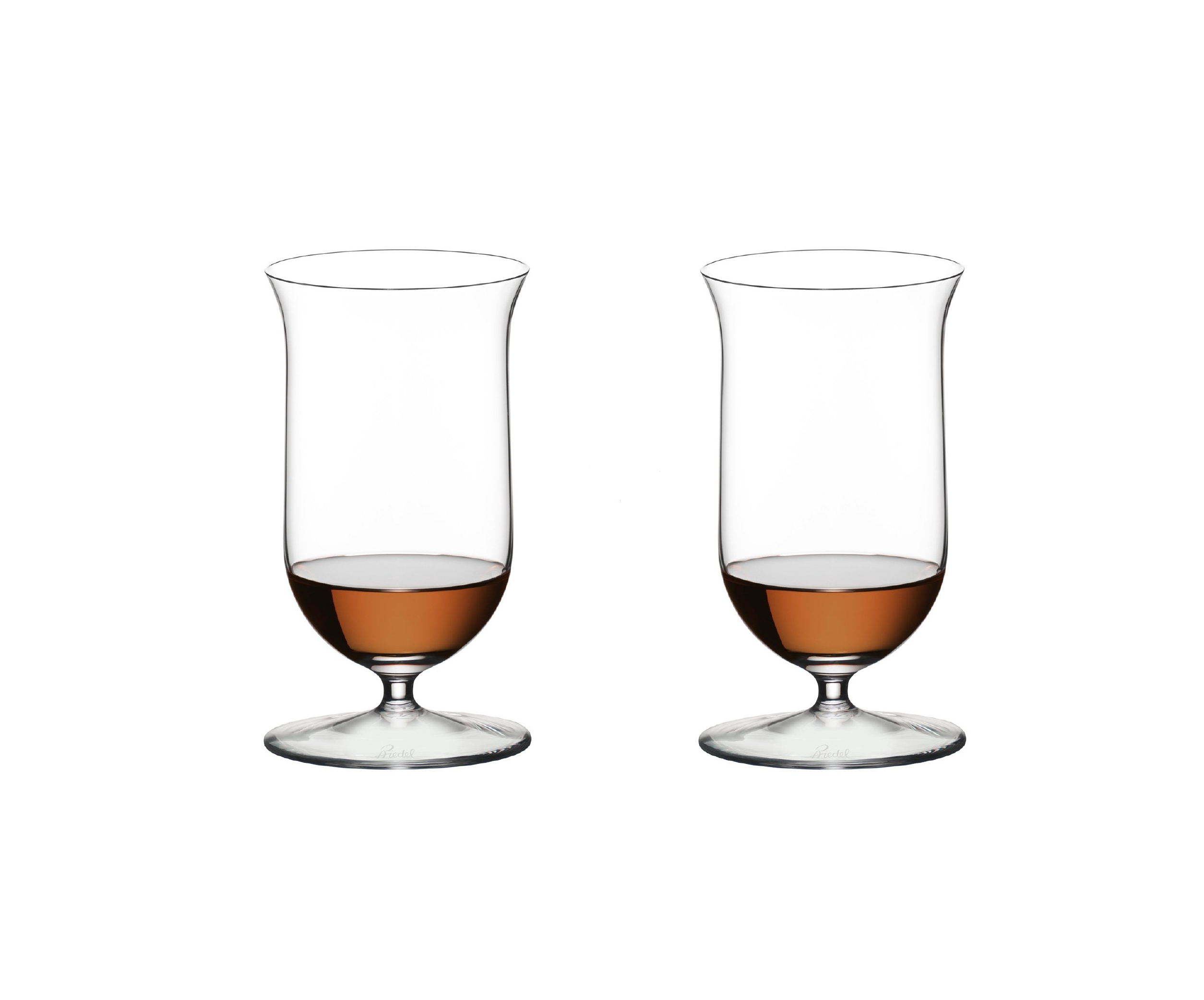 Ensemble de deux verres à whisky sur pied 7 oz - Sommeliers