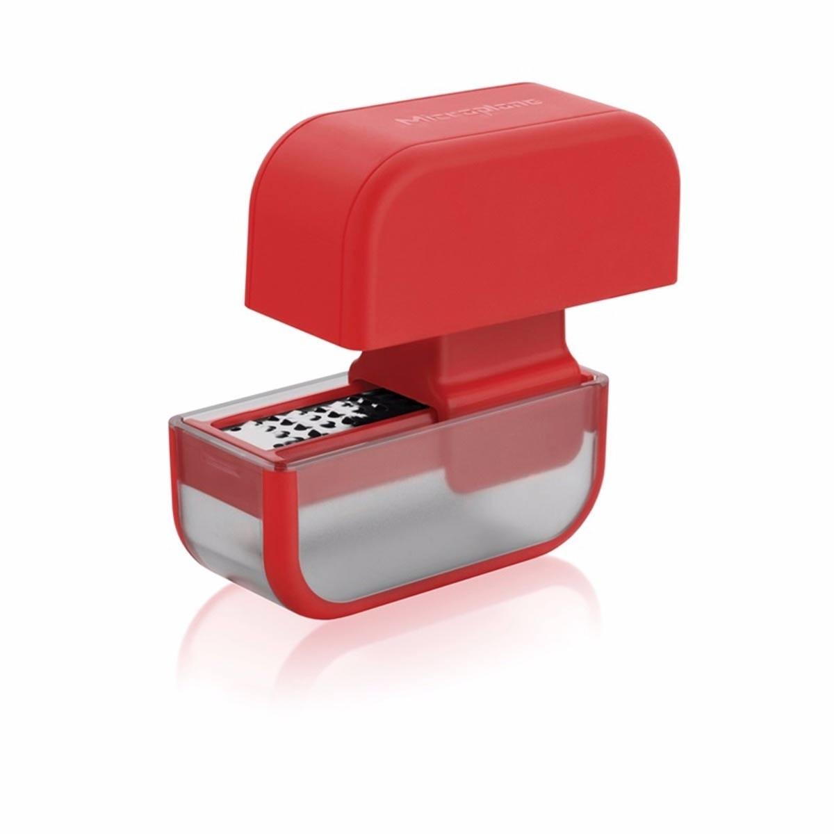 Râpe en acier inoxydable - Rouge