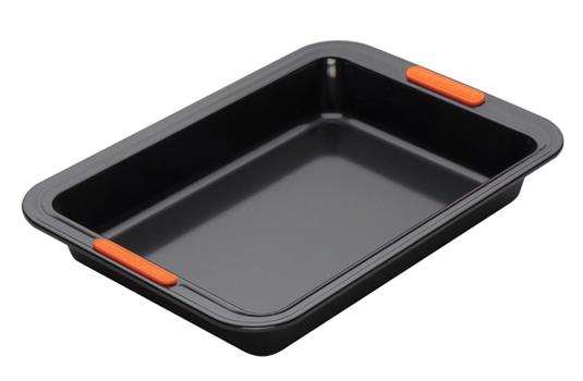 moule g teau rectangulaire 28cm plaques et recipients en acier inoxydable cuisson. Black Bedroom Furniture Sets. Home Design Ideas