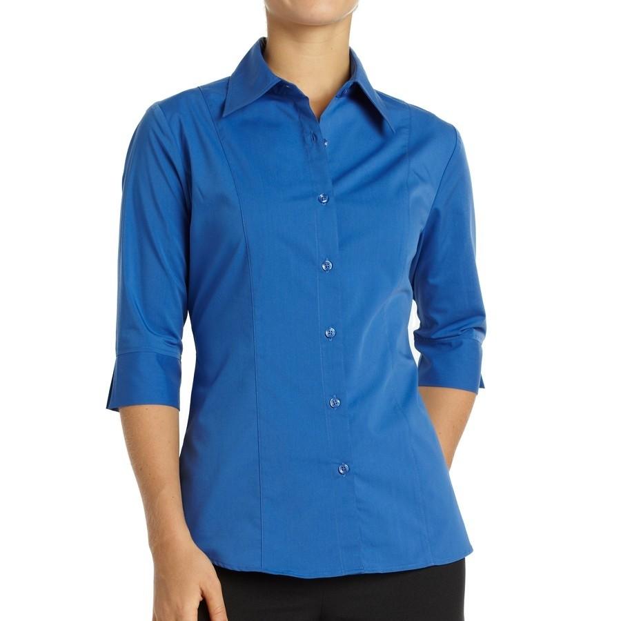 Chemise pour femme large Havana - Bleu français