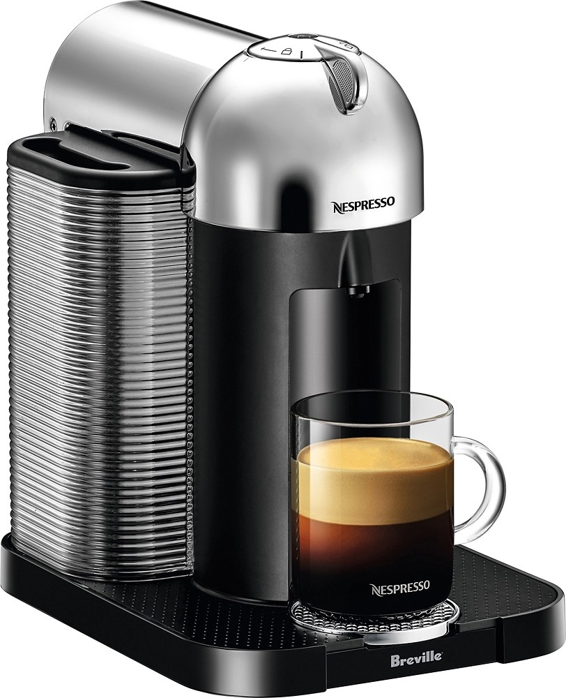 Machine Vertuo Café Després Chrome Capsules À – Doyon wyN80OPvnm