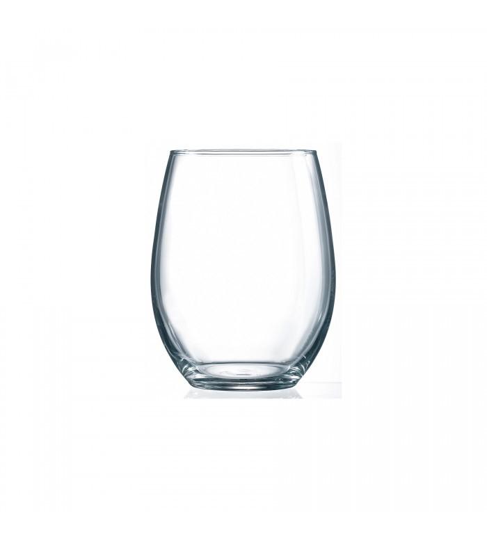 Verre vin blanc sans pied 21 oz perfection doyon cuisine for Verre sans pied