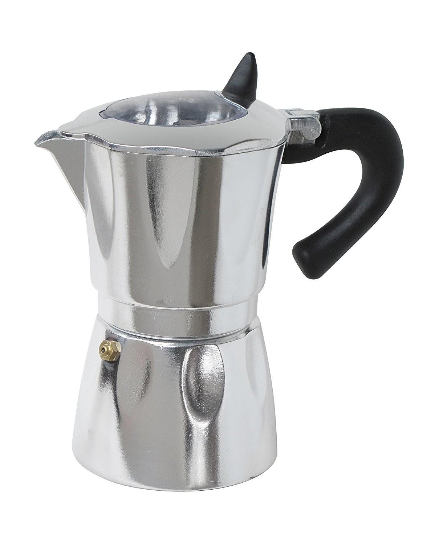 cafeti re espresso 6 tasses avec fen tre aluminium doyon cuisine. Black Bedroom Furniture Sets. Home Design Ideas