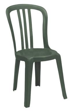 Chaise Grosfillex Miami Bistro – Vert Amazone - Doyon Després 8698cf8464b0