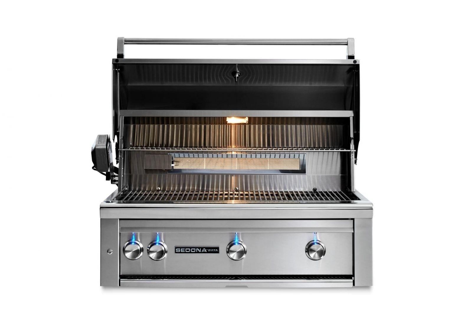 BBQ encastrable au gaz propane L36TR - Acier inoxydable