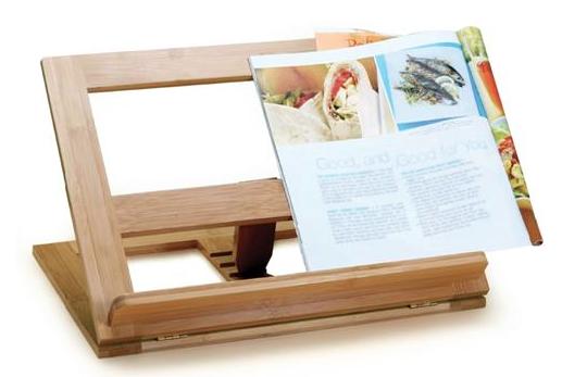 support en bambou pour livre de recettes doyon despr s. Black Bedroom Furniture Sets. Home Design Ideas