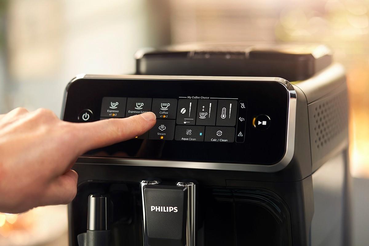 Machine à café automatique 3200 avec réservoir de lait - Noir