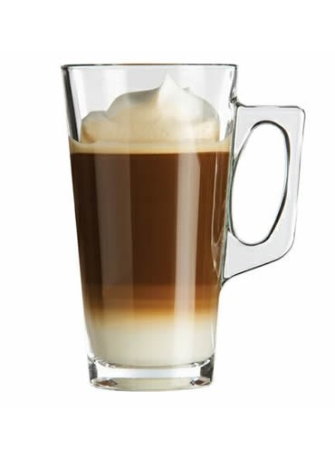Ensemble de deux tasses en verre 12,5 oz - Barista