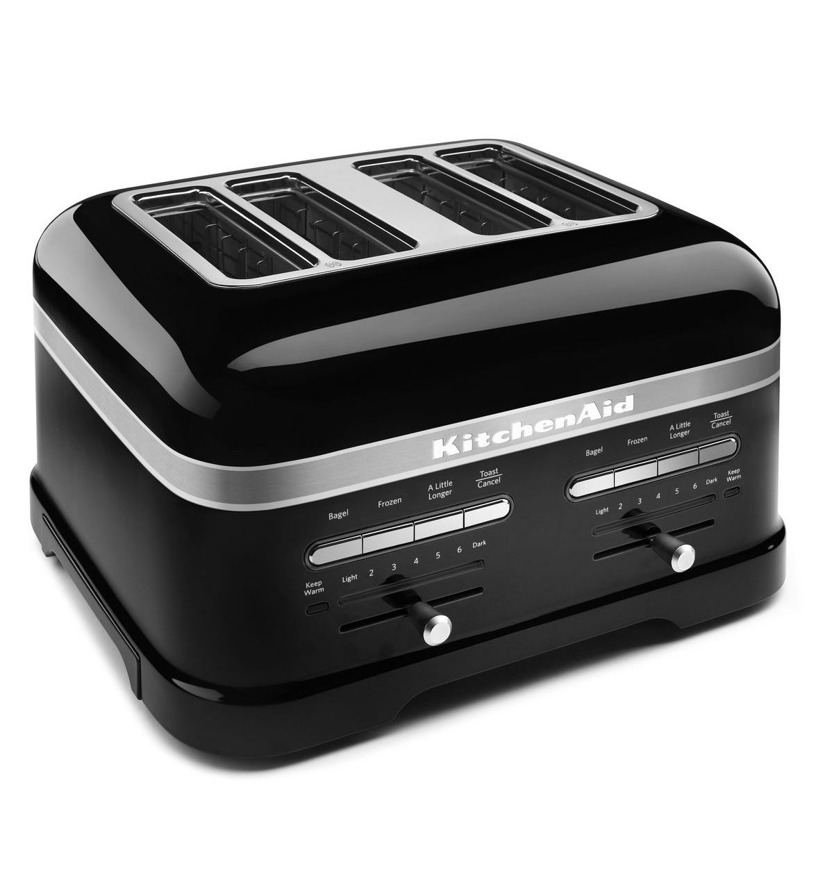 grille pain kitchenaid pro line 4 fentes noir doyon despr s. Black Bedroom Furniture Sets. Home Design Ideas