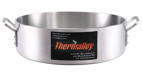 Braisière en aluminium poids élevé Thermalloy 24 L