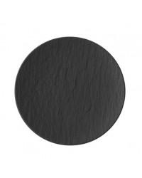 Assiette ronde 6,25'' - Manufacture Rock gris-noir