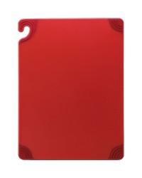 Planche à découper en copolymère Saf-T-Grip 12'' x 9'' – Rouge