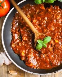 Les pâtes et les sauces italiennes