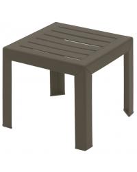 "Table basse carrée Bahia 16"" - Bronze Mist"
