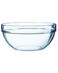 Bol rond en verre 2,5 oz - Empilable