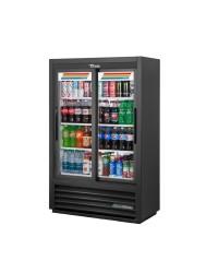Réfrigérateur deux portes coulissantes 33 pi³ - Noir (endommagé)