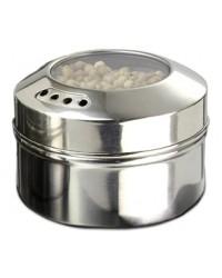 Récipient à épices magnétique en acier inoxydable