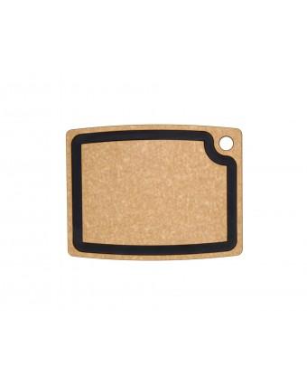 """Planche à découper en bois composite Gourmet 14,5"""" x 11,25""""- Naturel / Ardoise"""