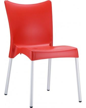Chaise d'extérieur Juliette - Rouge