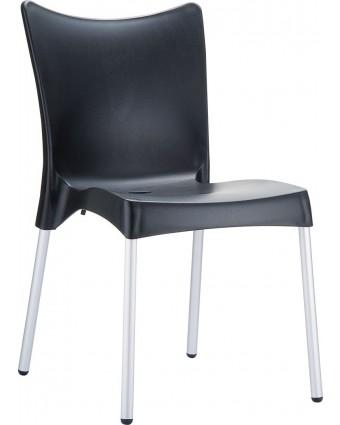 Chaise d'extérieur Juliette - Noir