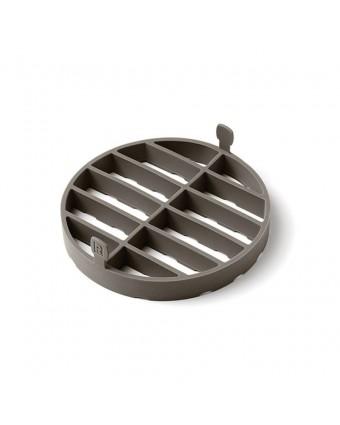 Grille en silicone pour cuisson à la vapeur