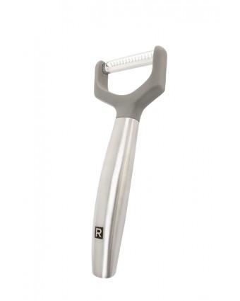 Éplucheur julienne à lame dentelée en acier inoxydable - Nouvelle génération