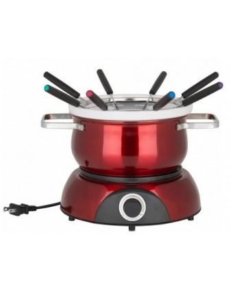 Ensemble à fondue électrique en acier inoxydable - Scarlet