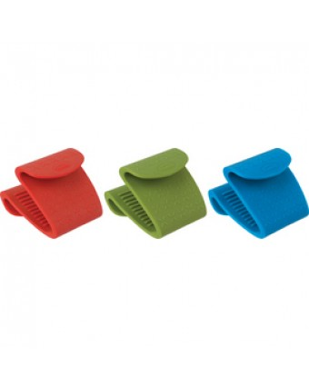 Pince tout usage en silicone - Couleurs assorties