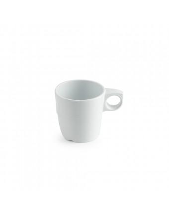 Mug en mélamine 10 oz - Miralyn blanc