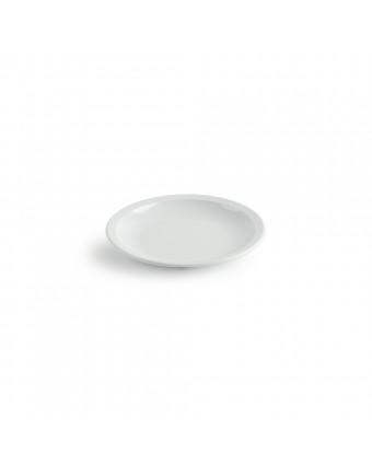 "Assiette ronde en mélamine 7"" - Miralyn blanc"
