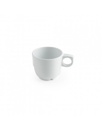 Mug en mélamine 8 oz - Miralyn blanc