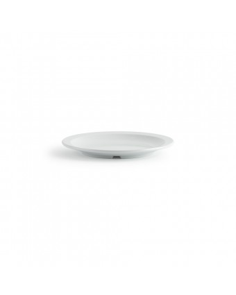 "Assiette ronde en mélamine 9"" - Miralyn blanc"