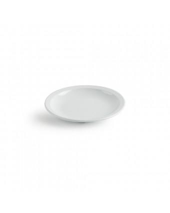 "Assiette ronde en mélamine 5,5"" - Miralyn blanc"