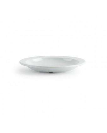 "Assiette creuse ronde en mélamine 9"" - Miralyn blanc"