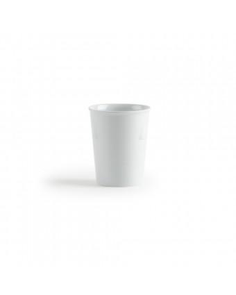 Verre en mélamine léger 8 oz - Miralyn blanc