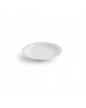 Assiette ronde en mélamine 6,25'' – Miralyn blanc