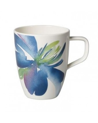 Mug en porcelaine 12,75 oz - Artesano Flower Art