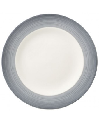 Assiette ronde 8,5'' - Colorful Life Cosy Grey