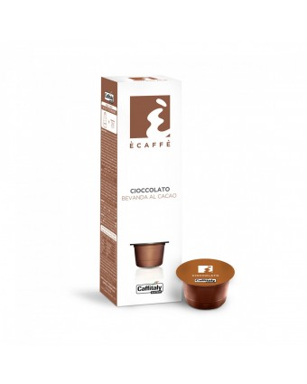 Capsules de chocolat chaud Ecaffe - Cacao