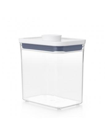 Petit récipient à ingrédient rectangulaire POP 2.0 1,6 L