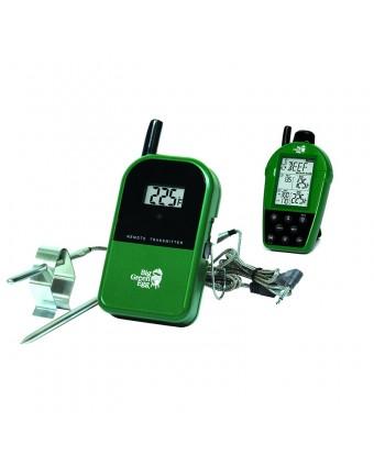 Thermomètre à télécommande et à double sonde
