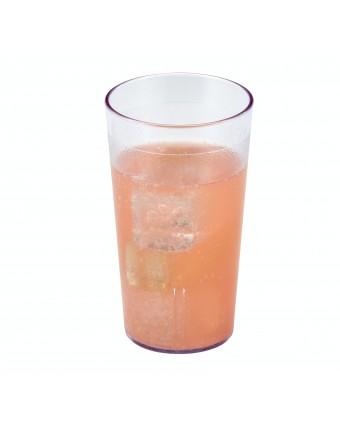 Verre en plastique transparent 12,6 oz - Colorware
