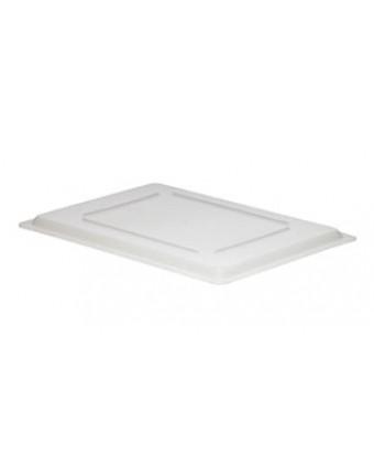 """Couvercle pour récipient rectangulaire 18"""" x 12"""" - Blanc"""