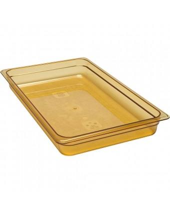 Contenant pleine grandeur ambre pour haute température