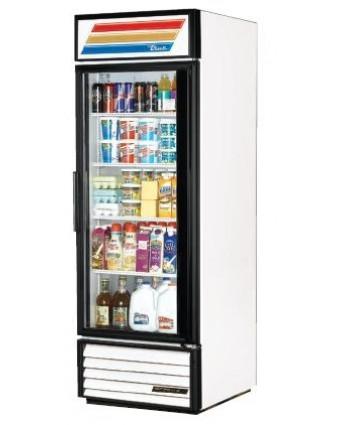 Réfrigérateur une porte vitrée 23 pi³ - Blanc