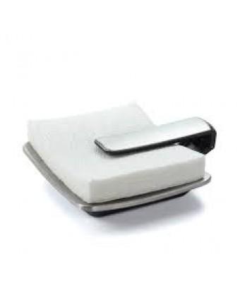 Porte-serviettes de table en acier inoxydable