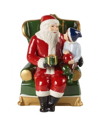 Figurine de Père Noël sur son fauteuil - Christmas Toy's