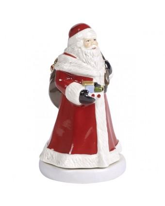 Figurine de Père Noël rotative - Nostalgic Melody