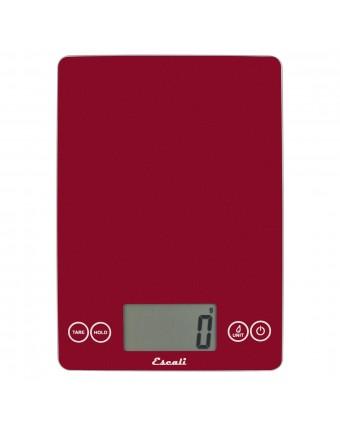 Balance numérique à portions rouge - 15 lb